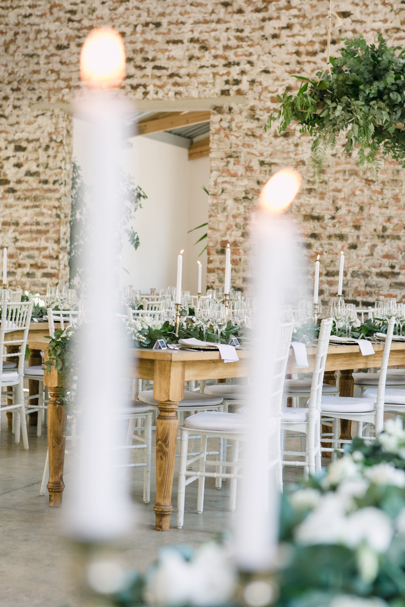 Dust and Dreams Photography Lace on Timber Wedding Decor
