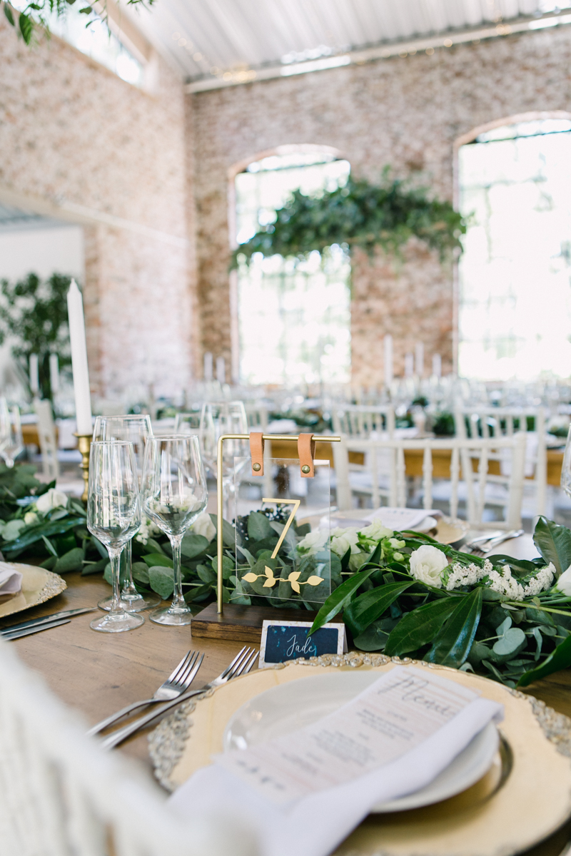 Dust and Dreams Photography Lace on Timber Wedding Florals