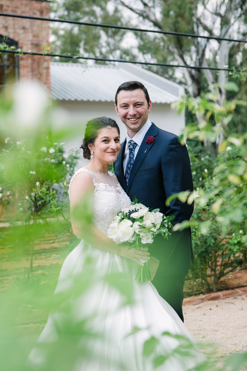 Dust and Dreams Photography Lace on Timber Bridal Couple