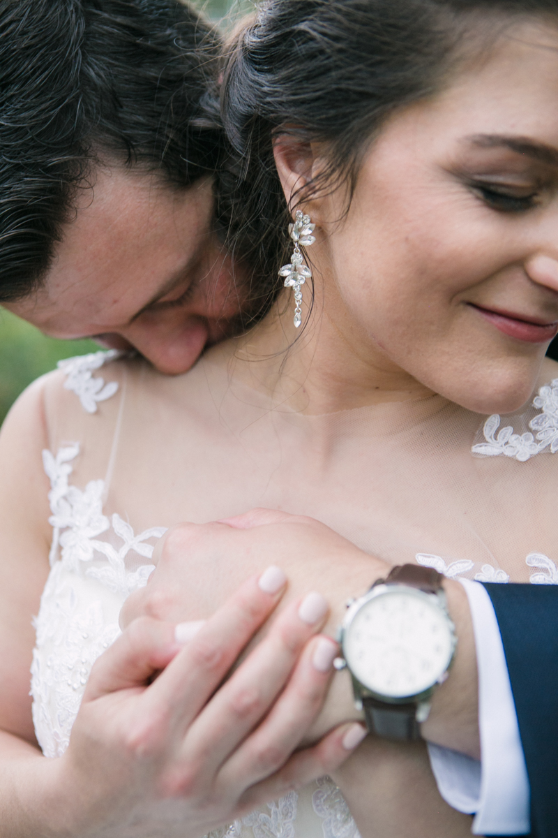 Dust and Dreams Photography Lace On Timber Wedding Couple